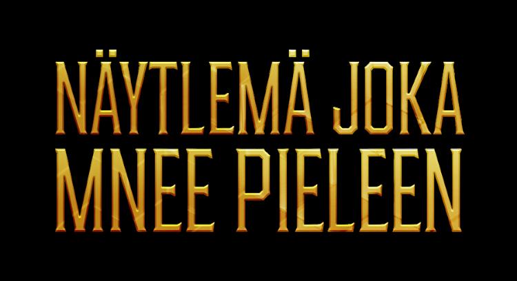 näytelmän logo